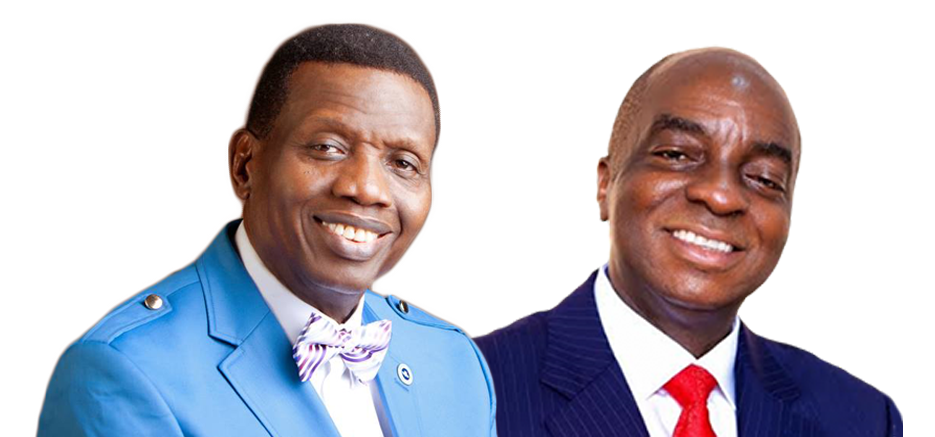 Pastor E.A. Adeboye and Bishop David Oyedepo