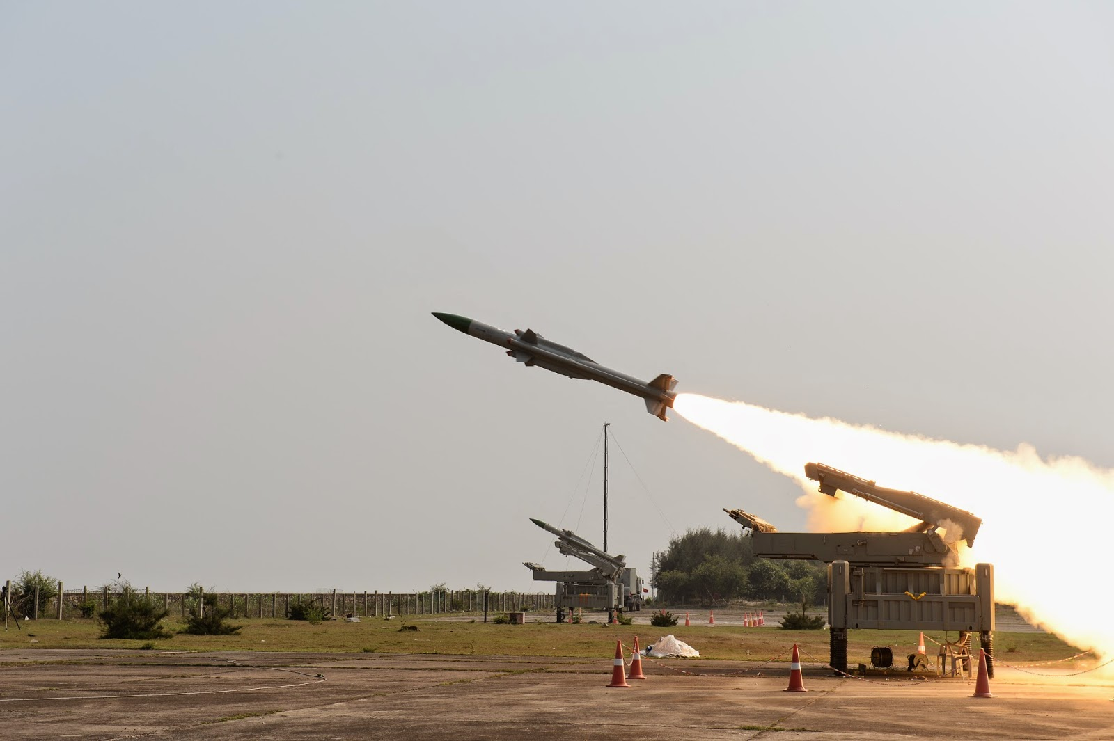 India Air Force Missile Test (Photo Credit: Defense Research and Development Organisation)