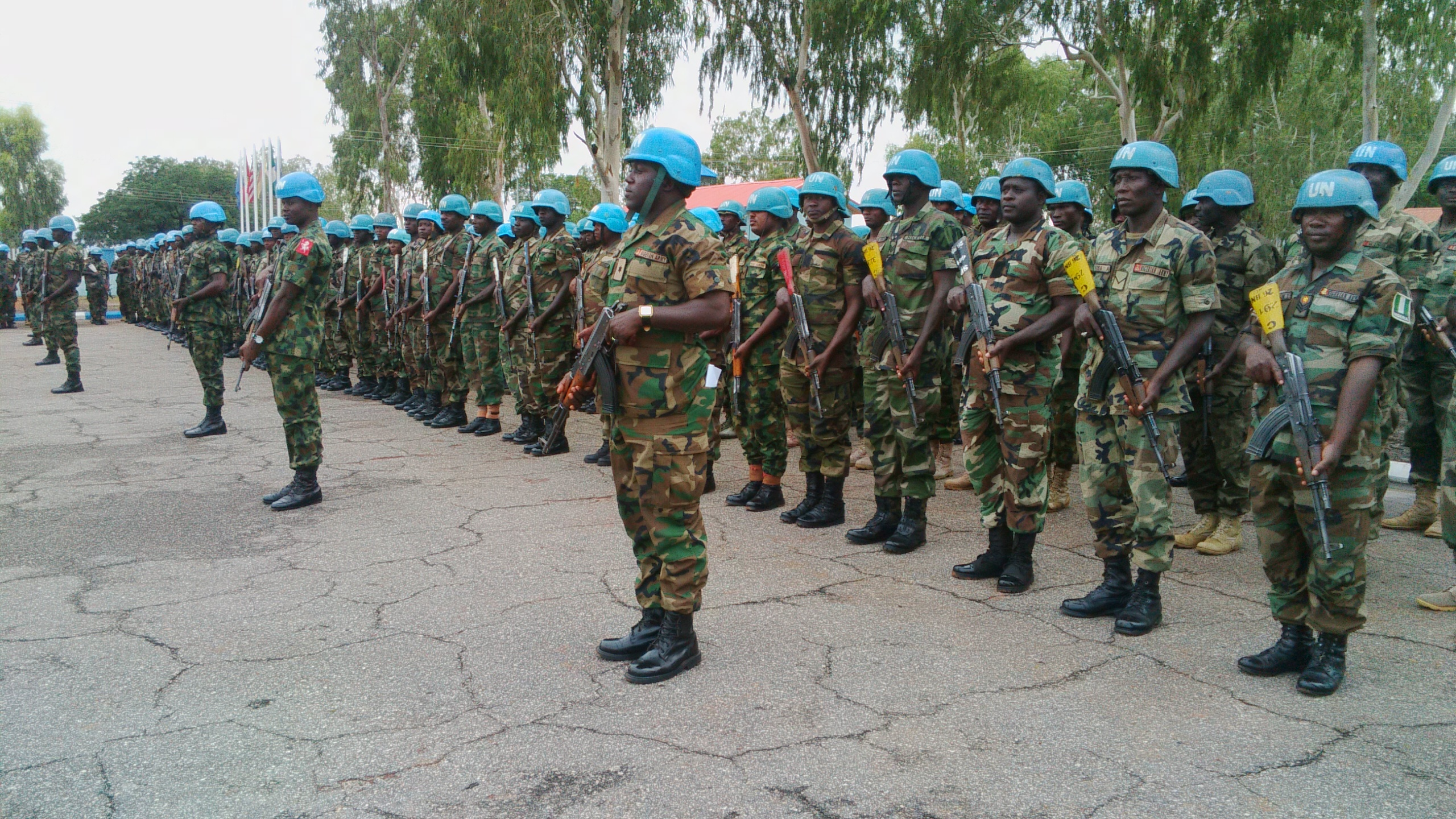 Nigeria Army Peacekeepers