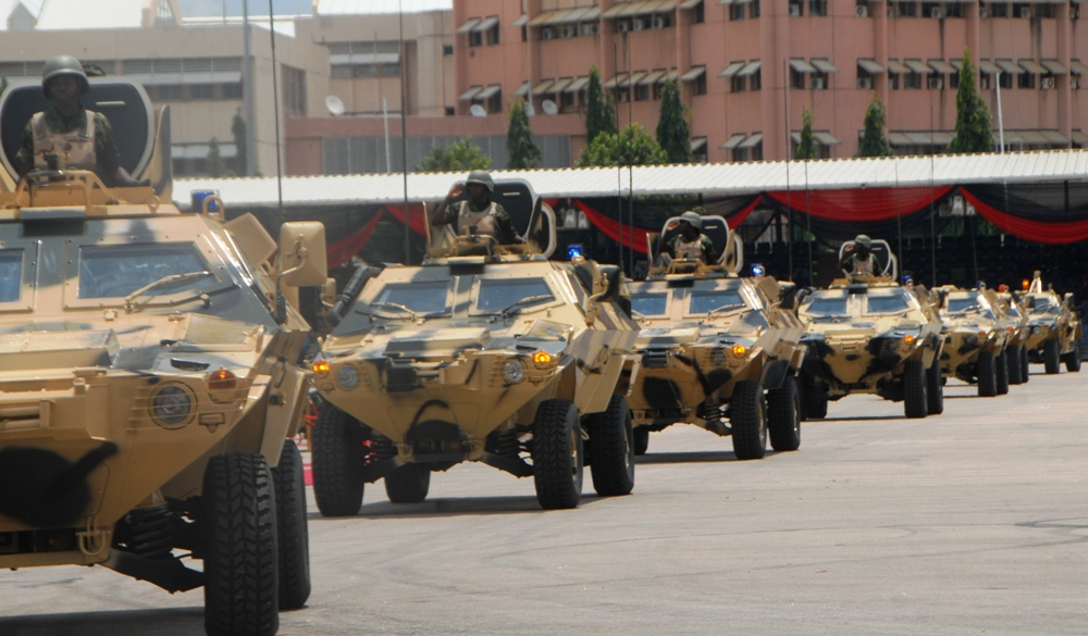 Nigerian military Armoured Fighting Vehicles