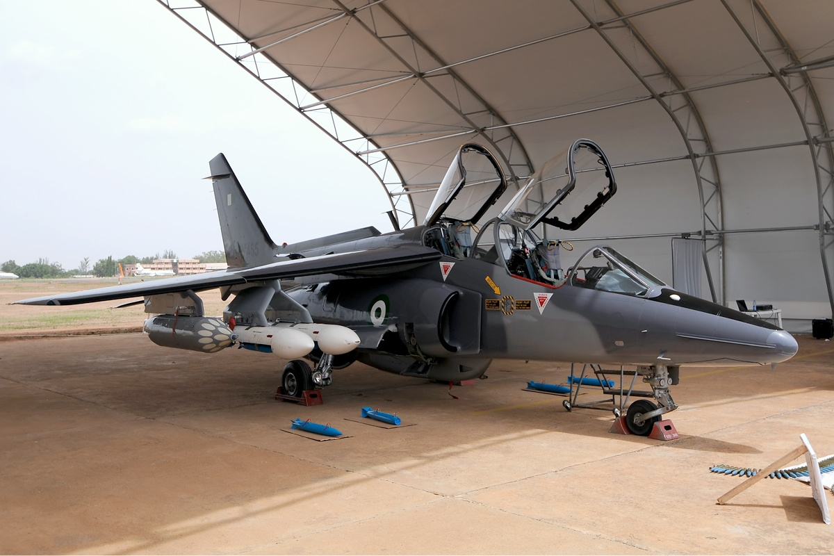 A Nigerian Air Force jet (Photo credit: Airliners.net/Ken Iwelumo)
