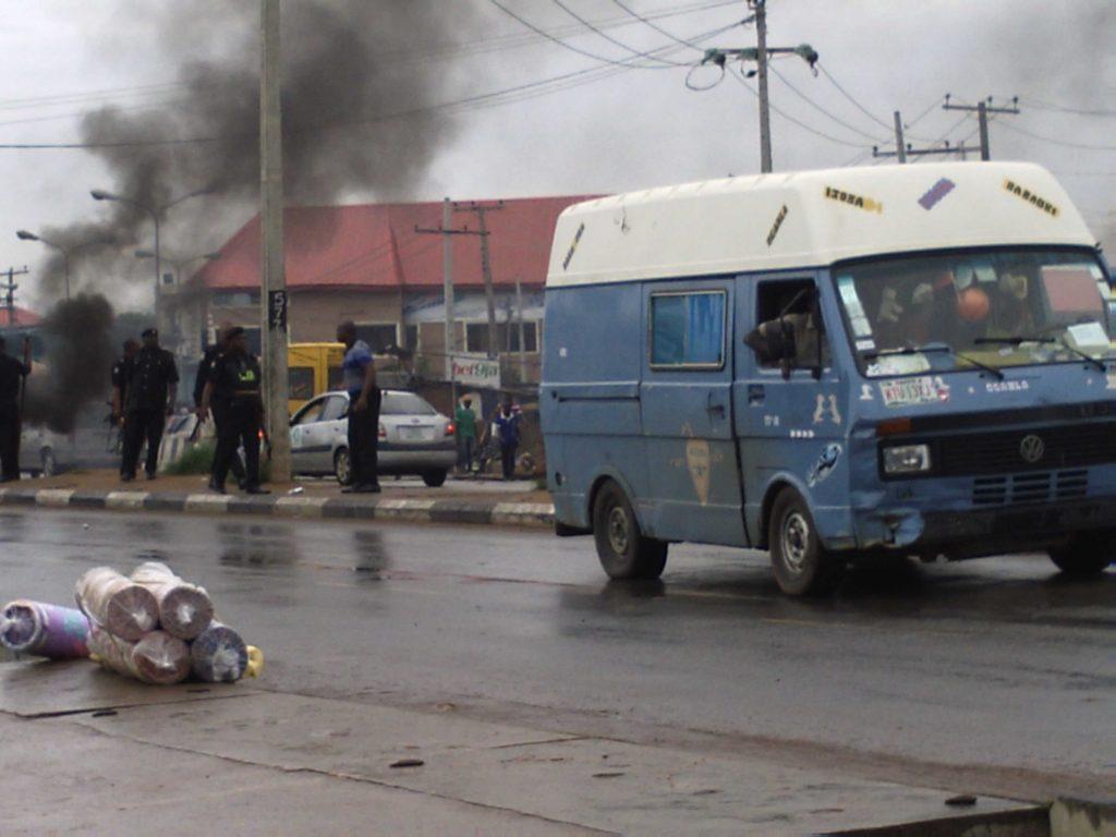 Igando Bus Stop today