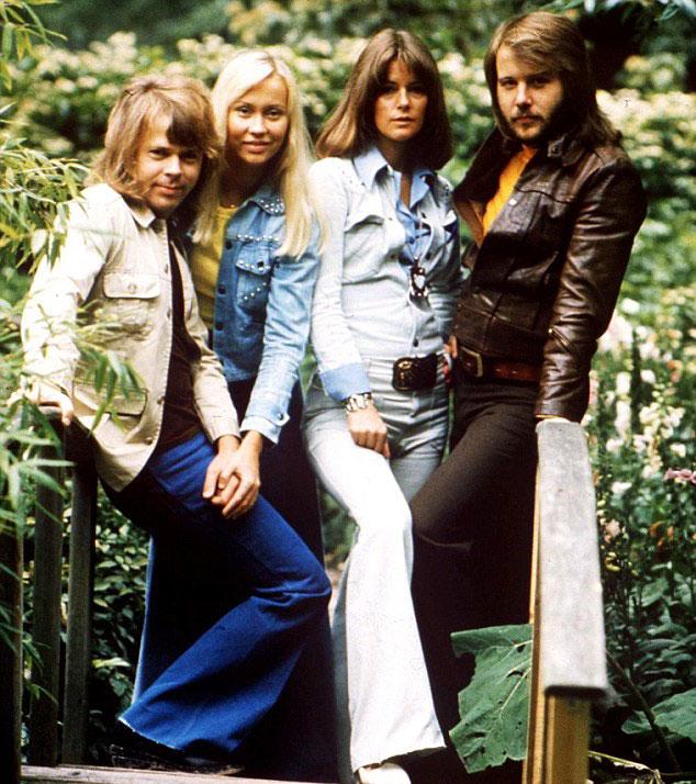 Throwback photo of ABBA (Photo: REX/Shutterstock)