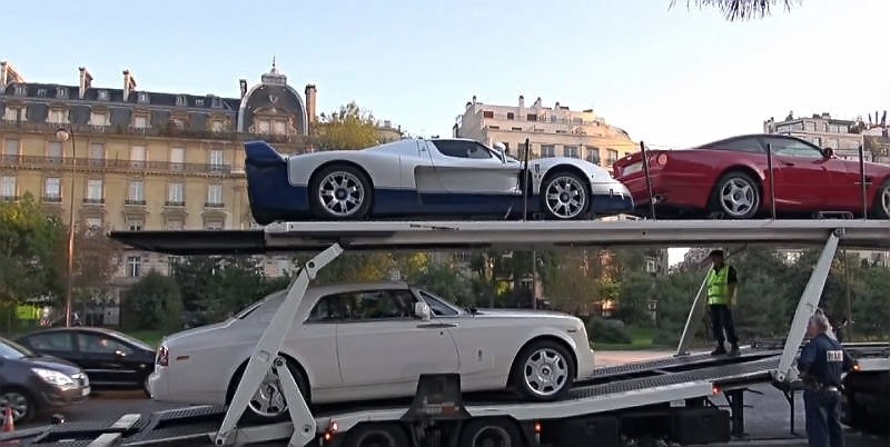 Some of Teodorin's cars seized in Paris